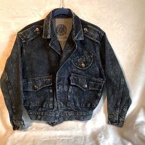 Levi's Girls Vintage Denim Cropped Jacket
